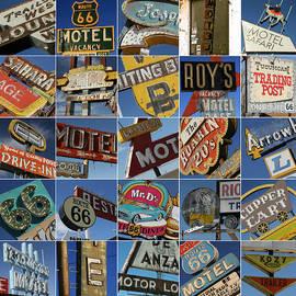 66 Sign Collage by Ellen and Udo Klinkel