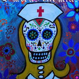 Pristine Cartera Turkus - Dia De Los Muertos Nurse