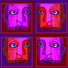 Irmgard Schoendorf Welch - 748 - Faces Pop Design