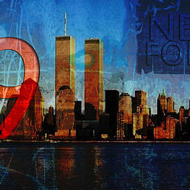 911 Never Forget by Anita Burgermeister