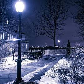 A Battery Park Winter by Theodore Jones