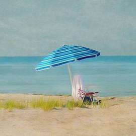 A Beach Day by Kim Hojnacki