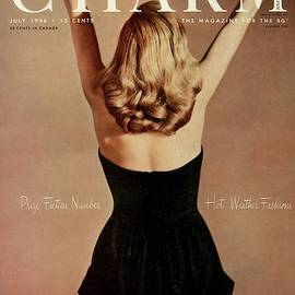 A Charm Cover Of A Model Wearing A Romper by Jon Abbot