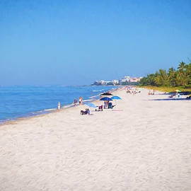 A Day at Naples Beach by Kim Hojnacki