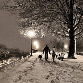SCB Captures - A December Night on Federal Hill