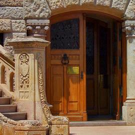 Christine Burdine - A door in Monaco