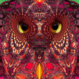 Robin Curtiss - A Faceted Owl