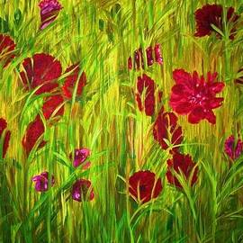 Deborah Gorga - A Field of Poppies