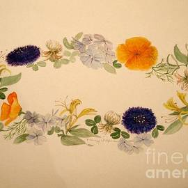 Nancy Kane Chapman - A Flower Circle