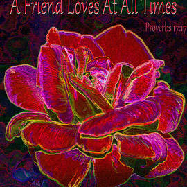 A Friend Loves At All Times by Michele Avanti