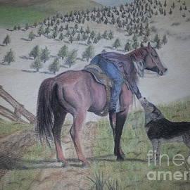 Sierra  Ferguson - A girl a horse and her dog