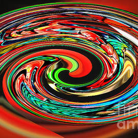 Jim Fitzpatrick - A mad Swirl of Colors