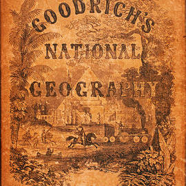 MotionAge Designs - A National Geography for Schools with a Globe Map on a New Plan New York Huntington and Savage 1845
