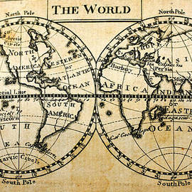 MotionAge Designs - A New Geographical Pocket Companion Comprehending a Description of the Habitable World New York 1795