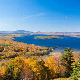 A Perfect Autumn Day In Maine by Jeff Folger