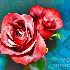 A Rose is A Rose Even By Another Name by Luther Fine Art