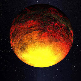 A Scorched World Kepler-10b  by Movie Poster Prints