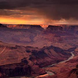 Matthieu Parmentier - A Storm At Sunset