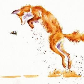 Red Fox - A Summer Jumper by Debra Hall