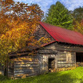 Debra and Dave Vanderlaan - A Touch of Red in Autumn