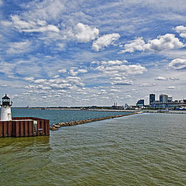 A View of Cleveland by Marcia Colelli
