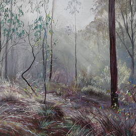Lynda Robinson - A Wickham Misty Morning