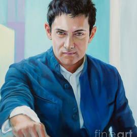 Aamir Khan  by Dominique Amendola