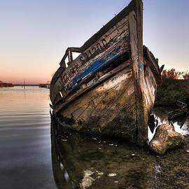 Marco Oliveira - Abandoned Fishing Boat IV