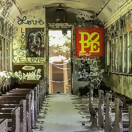 Abandoned Graffiti Train