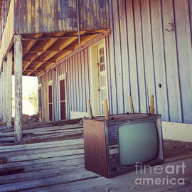 Abandoned Television by Andrea Gingerich