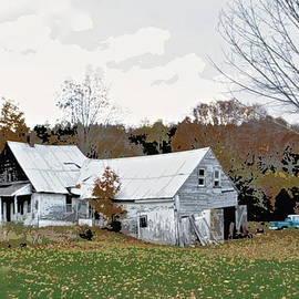 Marjorie Tietjen - Abandoned Vermont Homestead