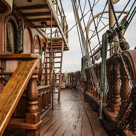 Aboard The Tall Ship Peacemaker by Dale Kincaid