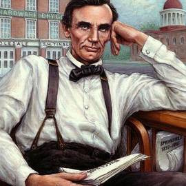 Abraham Lincoln of Springfield Bicentennial Portrait by Jane Bucci
