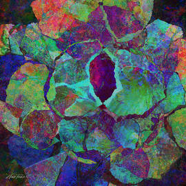 Ann Powell - Abstract Art Colorful Collage