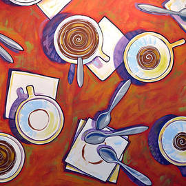 Amy Giacomelli - Abstract coffee art ... The Get Together