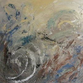 Abstract Composition 1 by Anita Burgermeister