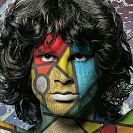 Ally  White - Abstract Jim Morrison