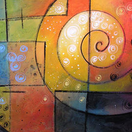 Amy Giacomelli - Abstract Painting ... Calm the Storm