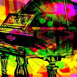 Larry Lamb - Abstract piano art