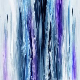 Irina Sztukowski - Abstract Waterfall Purple Flow