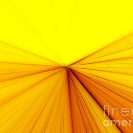 Abstract Yellow Background by Dan Radi