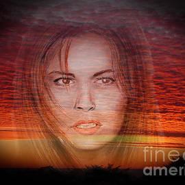 Jim Fitzpatrick - Actress Raquel Welch in Hannie Caulder Sunset Version