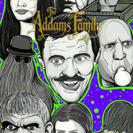 Gary Niles - Addams Family Portrait
