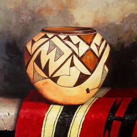 African vase by Amani Al Hajeri