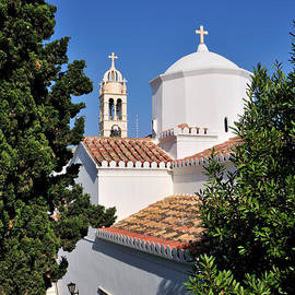 George Atsametakis - Agios Nikolaos church in Spetses town