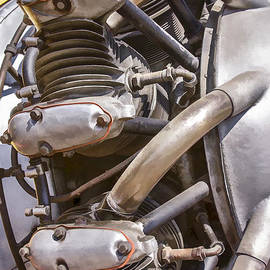 Airplane Engine by Photographic Art by Russel Ray Photos