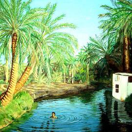 Al Ain-oasis by Amani Al Hajeri