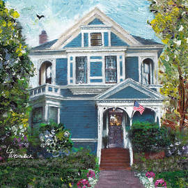 Alameda Historical 1887 Queen Anne by Linda Weinstock