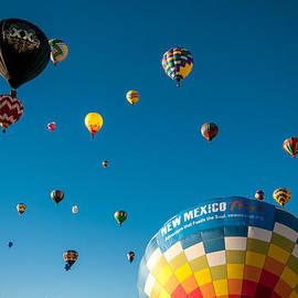 Albuquerque Balloon Fiesta 12 by Lou  Novick