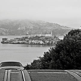 RicardMN Photography - Alcatraz Island from Hyde Street in San Francisco